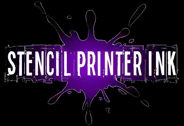 Stencil printer ink